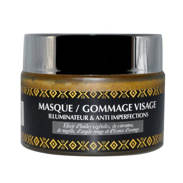 Masque / Gommage Visage Illuminateur & Anti-imperfections